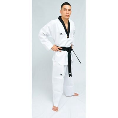 adidas Adi-START Black Collar Dobok White