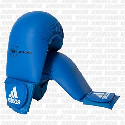 adidas Approved Karate Sparring Mitts (No Thumb) Blue
