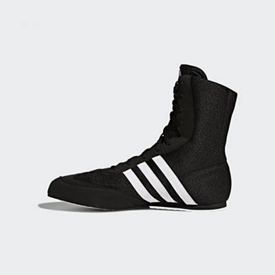 Adidas Box Hog 2 Boxing Boots Black-White