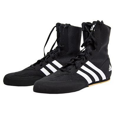 adidas Box Hog 2 Boxing Shoes Noir-Marron