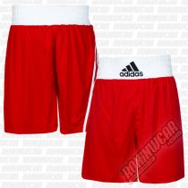 Adidas Boxing Shorts Base Punch Red-White
