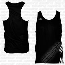 Adidas Top Boxeo Base Punch Negro-Blanco