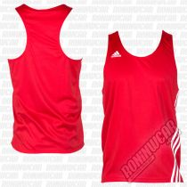 Adidas Top Boxeo Base Punch Rojo-Blanco
