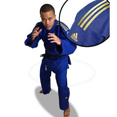 Adidas Champion II New IJF 2018 Judogi Blue