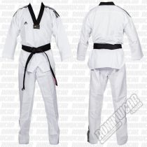 Adidas Dobok Fighter III Black Collar White
