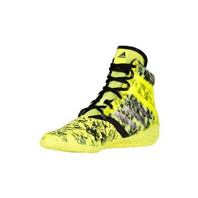 Adidas Flying Impact Wrestling Boxing Shoes Yellow-Black