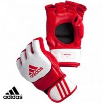Adidas Training Gloves Blanco-Rojo
