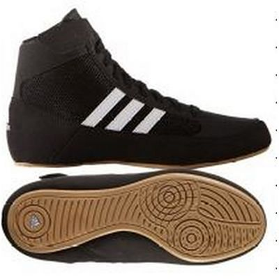 adidas HVC 2 Adult Wrestling Shoes Black-Brown