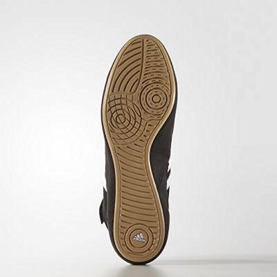 adidas HVC 2 Adult Wrestling Shoes Black-Brown