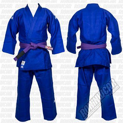 adidas Judogi Competicion Slim Kék