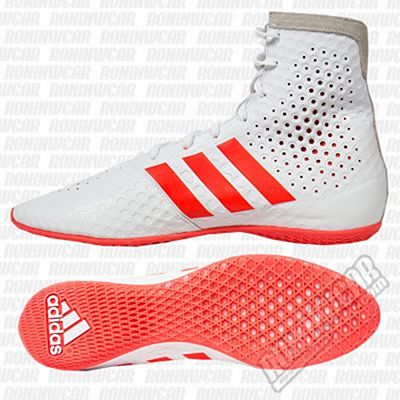 adidas KO Legend Boxing Shoes Blanc-Rouge