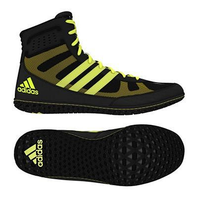 adidas Mat Wizard 3 Wrestling Shoes Nero-Giallo