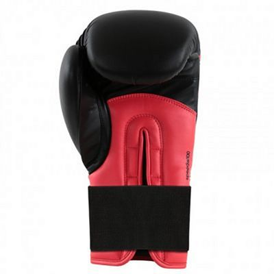 Adidas Speed 100 Boxing Gloves Womens Edition Black-Red