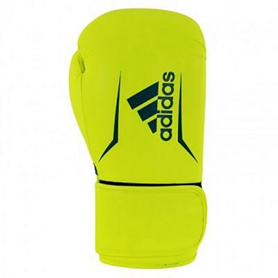 Adidas Speed 100 Boxing Gloves Yellow-Blue