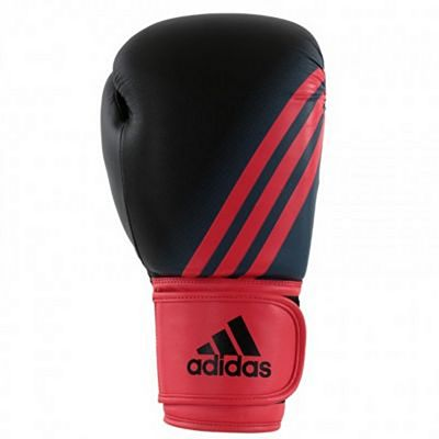 Adidas Speed 100 Kids Boxing Gloves Negro-Rojo