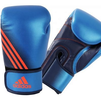 Adidas Speed 200 Boxing Gloves Blå