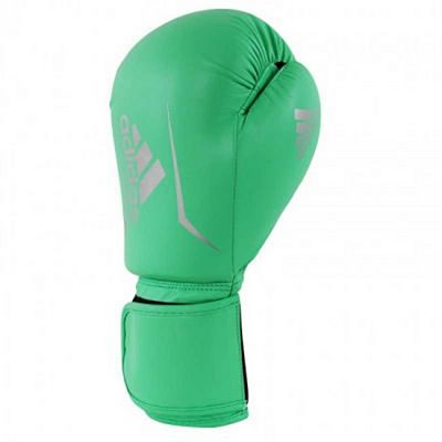 Adidas Speed 50 Boxing Gloves Green-Silver