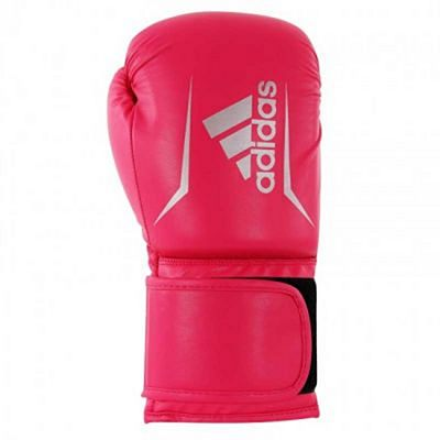 Adidas Speed 50 Boxing Gloves Rosa-Prateado