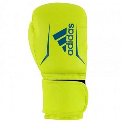 Adidas Speed 50 Boxing Gloves Yellow-Blue