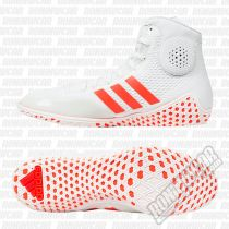 Adidas Botas Wrestling Tech Fall 16 Rio Blanco-Rojo