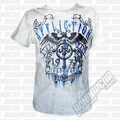Affliction Condemned Kids Tee White