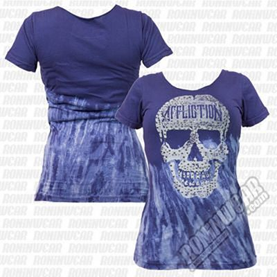Affliction Olivia Skull Tee