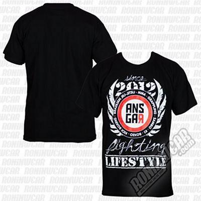 Ansgar 2012 T-shirt Negro