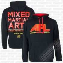Ansgar AFL Mixed Martial Arts Hoodie Fekete
