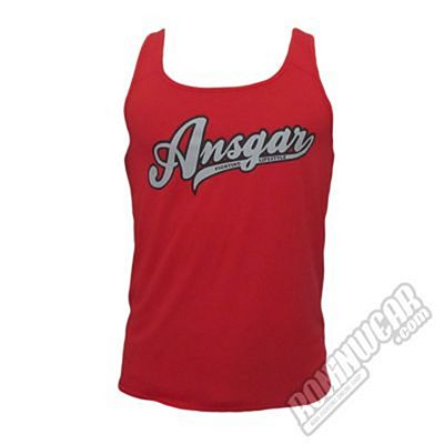 Ansgar Sleeveless Tee Red