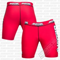 Ansgar Army Of Warriors Lycra Shorts Rosso