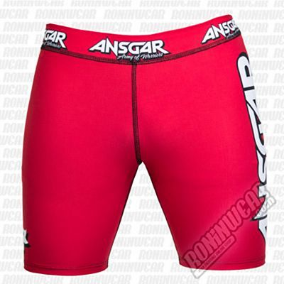 Ansgar Army Of Warriors Lycra Shorts Red