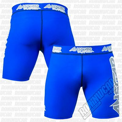 Ansgar Army Of Warriors Lycra Shorts Azul
