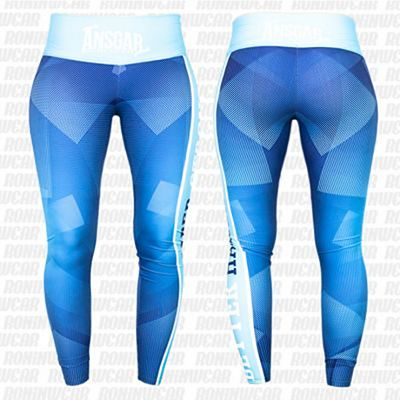 Ansgar Better Harder Stronger Leggings Celeste-Azul