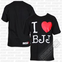 Ansgar I Love BJJ T-shirt Nero