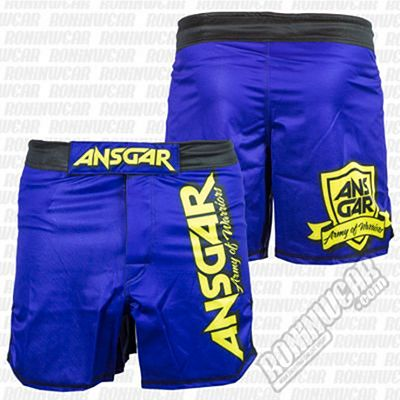 Ansgar MMA Army Of Warriors Blue