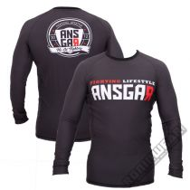 Ansgar Rashguard Fighting Lifestyle Nero