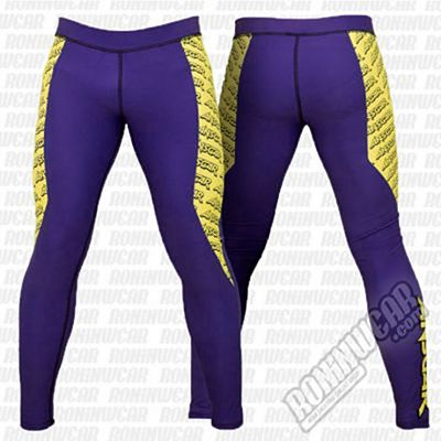 Ansgar Spats Purple-Yellow