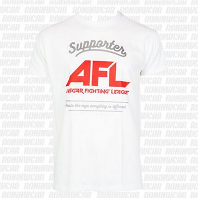 Ansgar Supporter AFL T-shirt Blanco