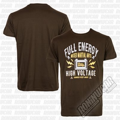 Ansgar T-shirt Full Energy Marron