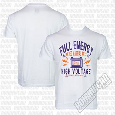 Ansgar T-shirt Full Energy Blanco