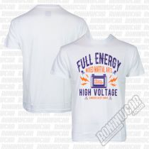 Ansgar T-shirt Full Energy Bianco
