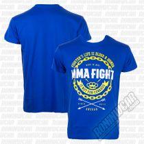 Ansgar T-shirt MMA Fight Azul