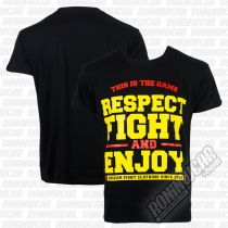 Ansgar T-shirt Respect Fight Nero