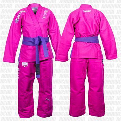 Atama Tsuru BJJ Kimono Rosa