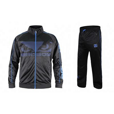 Bad Boy All Around Track Suit Schwarz-Blau