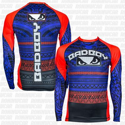 Bad Boy Art Of Lua Rashguard Blu-Rosso