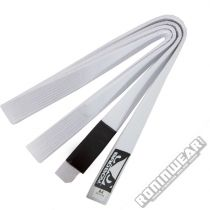 Bad Boy BJJ Belt Blanco