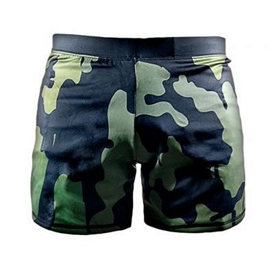 Bad Boy Delta Vale Tudo Shorts Camo-Green
