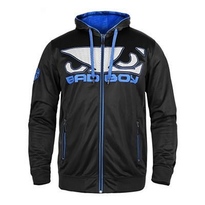 Bad Boy Dynamic Hoodie Black-Blue