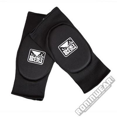 Bad Boy Protectores Codo Negro